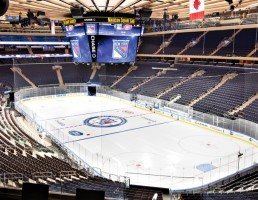 "This project included a multi-phased renovation and improvement to the existing Madison Square Garden. Amongst other things, the addition of mid-level suites and bunker suites; improved club and upper level services and amenities; a new ""party"" area at the 10th level; enhancements to public concourses and food and beverage, retail areas."